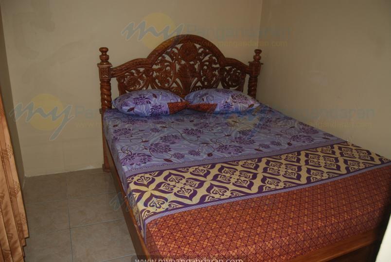 Tampilan kamar tidur dolar pangandaran